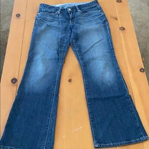Gap Sexy Boot Cut Stone Wash Jeans